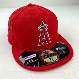 LA Angels Anaheim Hat New Era 59fifty Cool Base